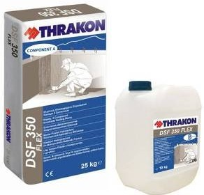 Thrakon DSF 350 Flex Двукомпонентна циментова хидроизолация
