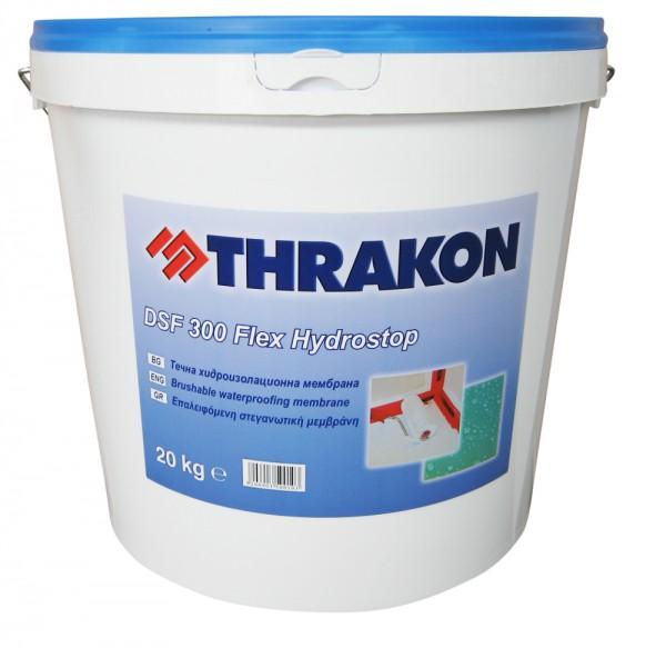 Thrakon DSF 300 Flex Hydrostop – Пастообразна хидроизолационна мембрана за мокри помещения