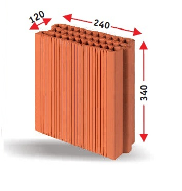 Керамични блокове KEBE K 120