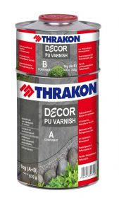 Thrakon Décor PU Varnish – Двукомпонентен полиуретанов лак защита на Микроцимент