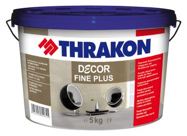 Thrakon Décor Fine Plus – Еднокомпонентен Микроцимент