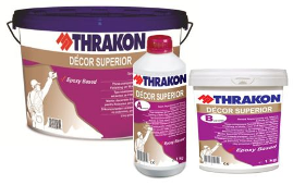 Thrakon Décor Superior – Трикомпонентен Микроцимент